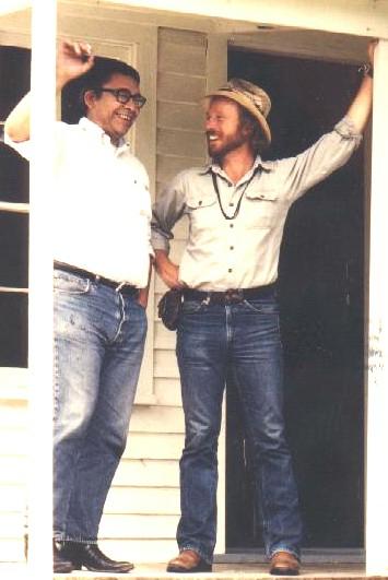 Vine Deloria and Bobby Briger in 1980